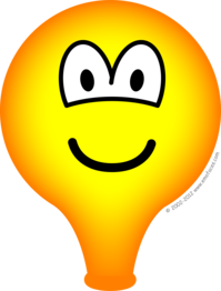 Party balloon emoticon