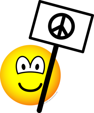 Ban the bomb emoticon