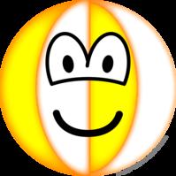 Beachball emoticon
