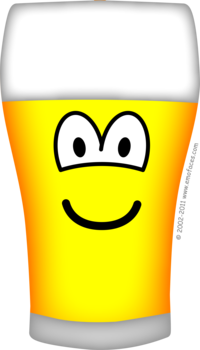 Beer glass emoticon