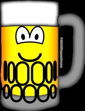 Beer pull emoticon