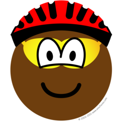 Biker emoticon