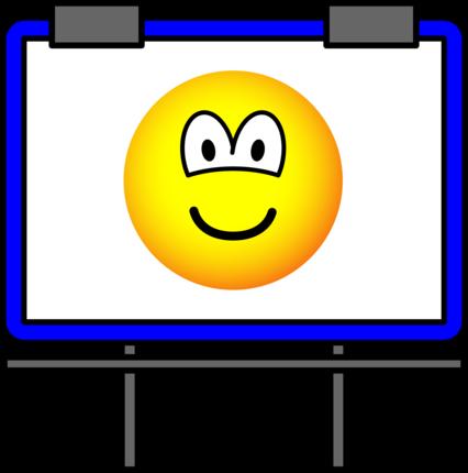Billboard emoticon