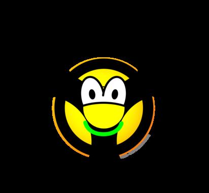 Biohazard emoticon