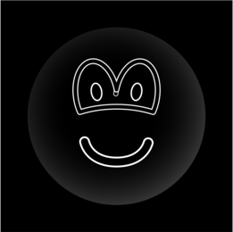 Black hole emoticon