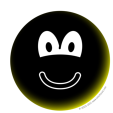 Black emoticon