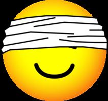 Blindfolded emoticon
