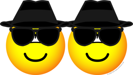 Blues Brothers emoticons
