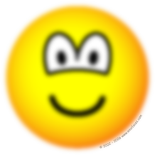 Blurry emoticon