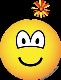 Bomb emoticon