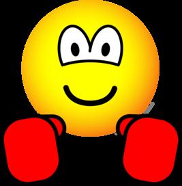 Boxing emoticon