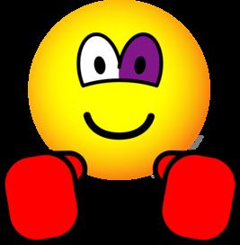 boxing emoticon black eye emoticons