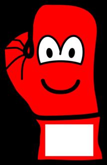 Boxingglove emoticon