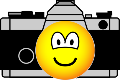 Camera emoticon