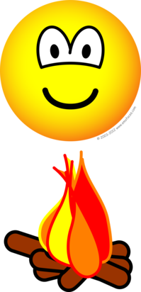 Campfire emoticon