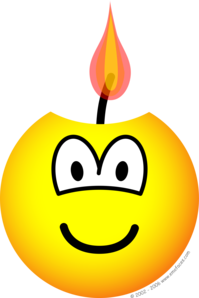 Candle emoticon