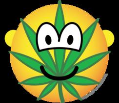 Cannabis emoticon
