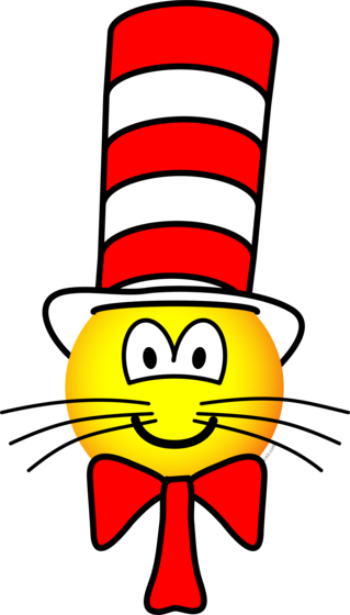 Cat in the hat emoticon