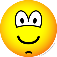 Chin dimple emoticon