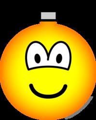 Christmas ball emoticon