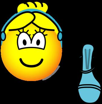 Cinderella emoticon