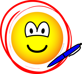 Circled emoticon