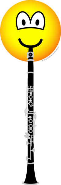 Clarinet emoticon