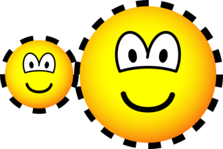 Cogwheels emoticons