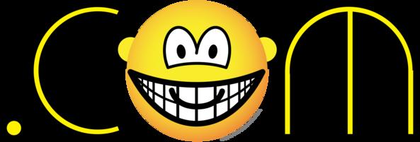 Dot com emoticon
