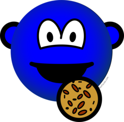 Cookie monster emoticon