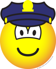 Cop emoticon