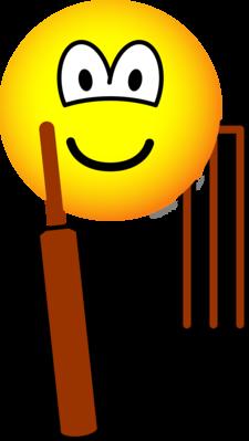 Cricket emoticon
