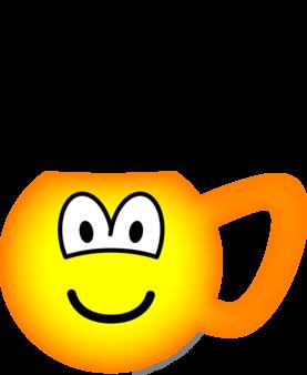 cup emoticon hot emoticons emofacescom