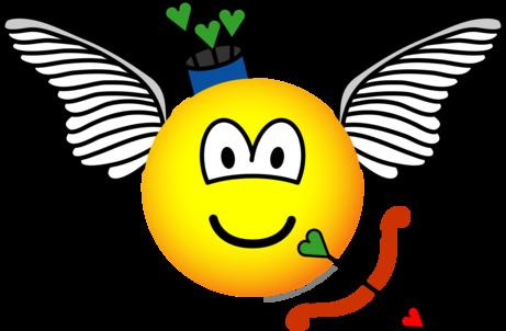 Cupid emoticon