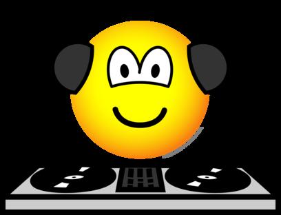 DJ emoticon