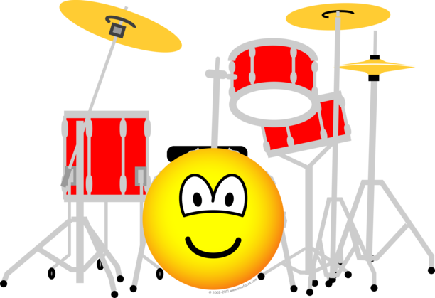 Drumkit emoticon