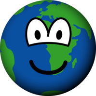Earth emoticon