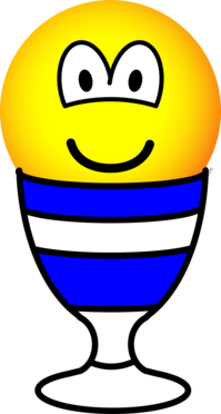 Eggcup emoticon