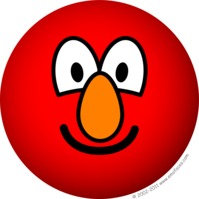 Elmo emoticon