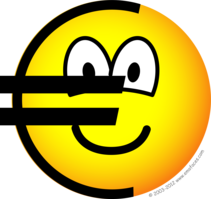 Euro symbol emoticon