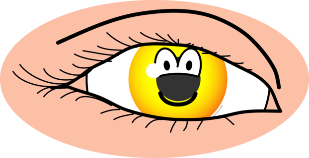 Eye emoticon