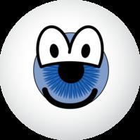 Eyeball emoticon