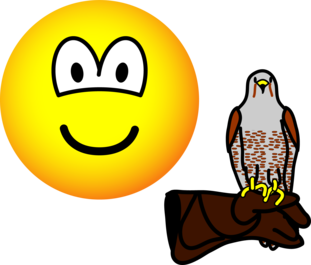 Falconer emoticon