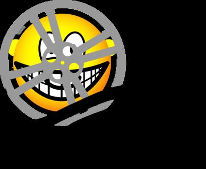 Movie reel emoticon