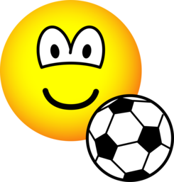 Footballing emoticon