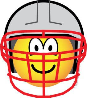 Football player emoticon