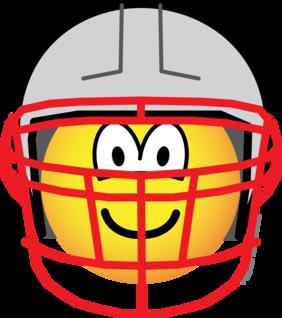Football player emoticon