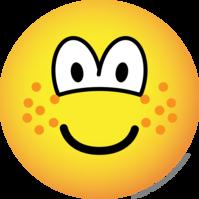 Freckles emoticon