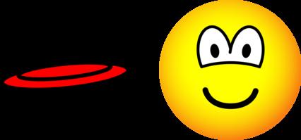 Frisbee emoticon