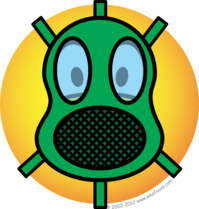 Gasmask emoticon